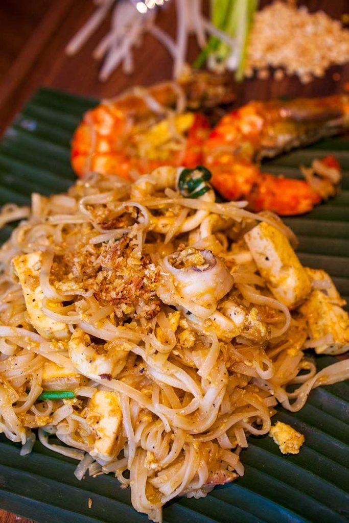 Pad Thai, Urban Café, Sukhothai Shanghai
