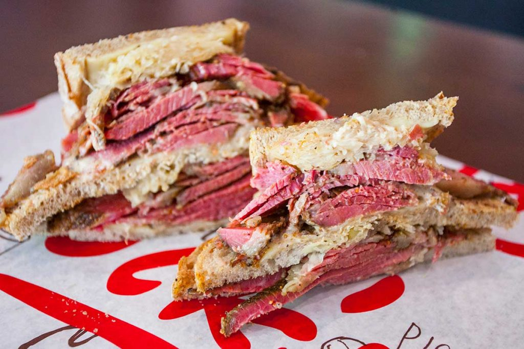 Tock's, a Montreal deli in Shanghai serving deli-style sandwiches