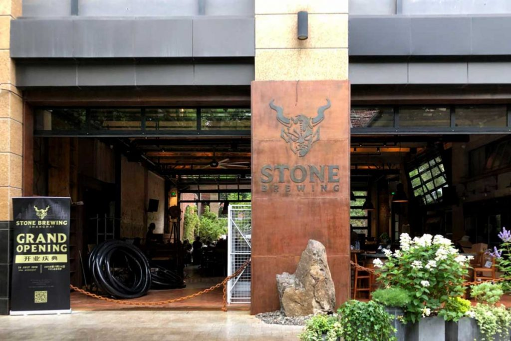 Stone Brewing Shanghai bring craft beers to China