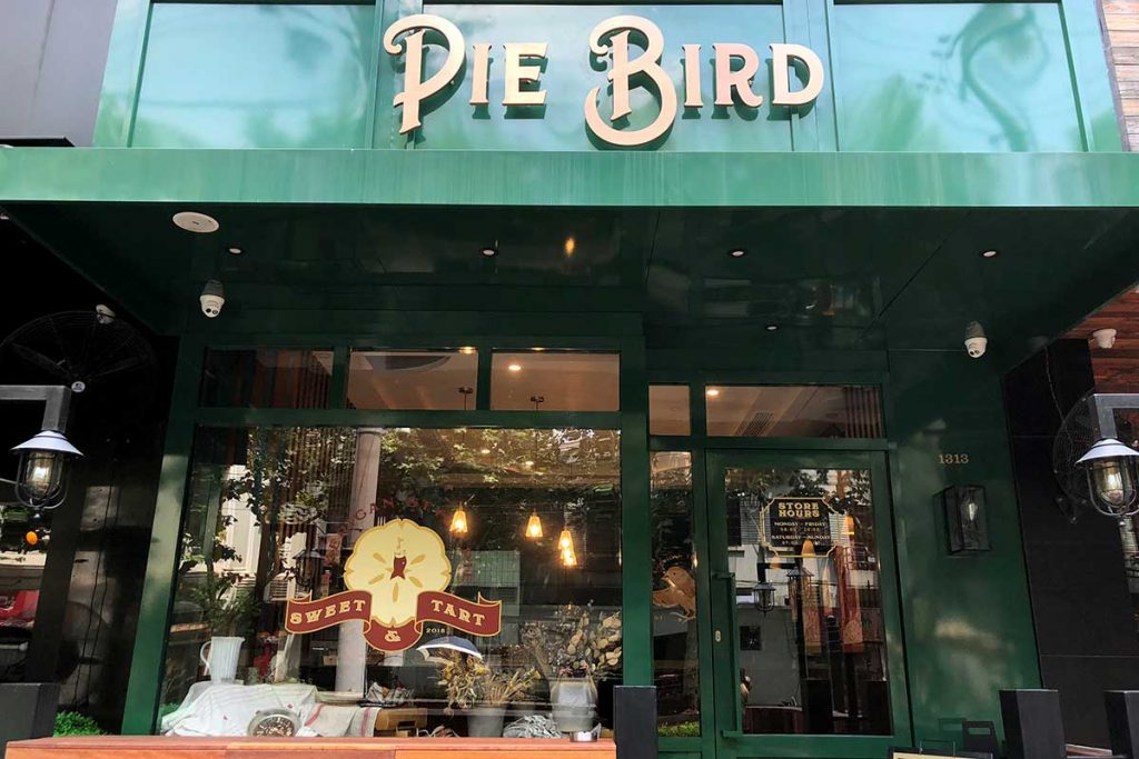 Pie Bird, American pie cafe in Shanghai
