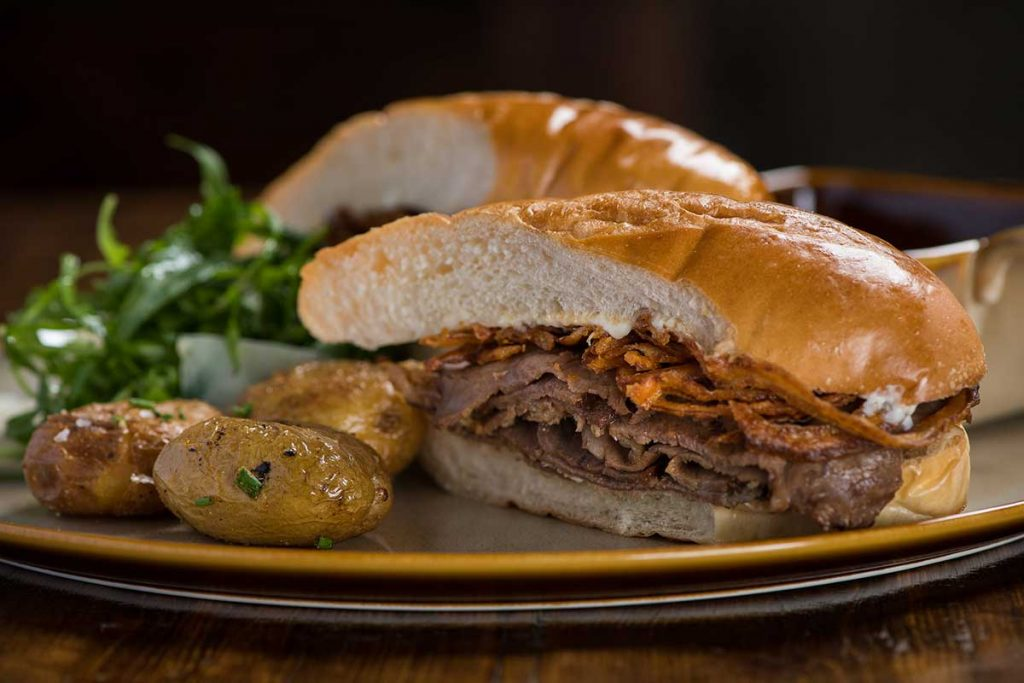 French Dip at Stone Brewing Shanghai. Photo by Rachel Gouk.