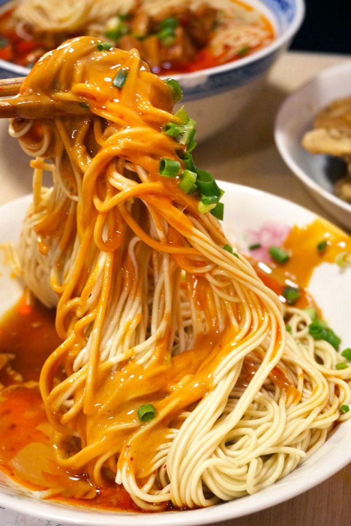 Noodles in Shanghai: Sesame Noodles at Wei Xiang Zhai (Photo by Rachel Gouk)
