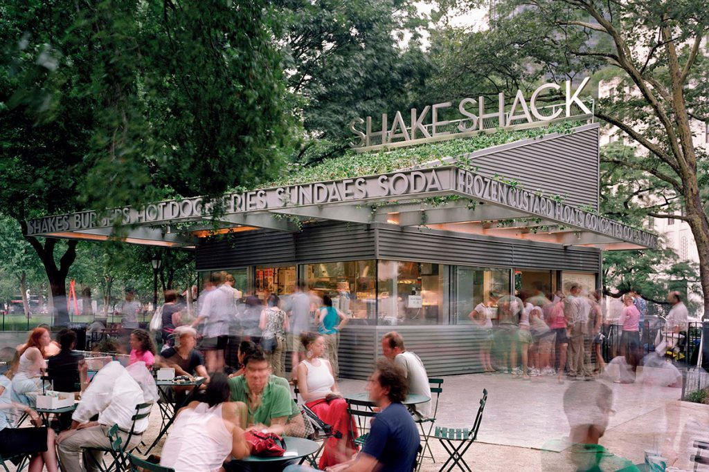 Shake Shack, Madison Square Park