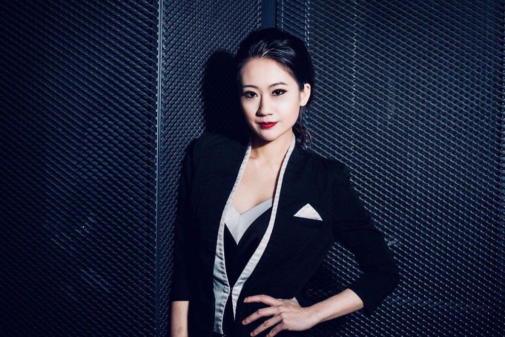 Jackie Lo, a bartender in Shanghai.