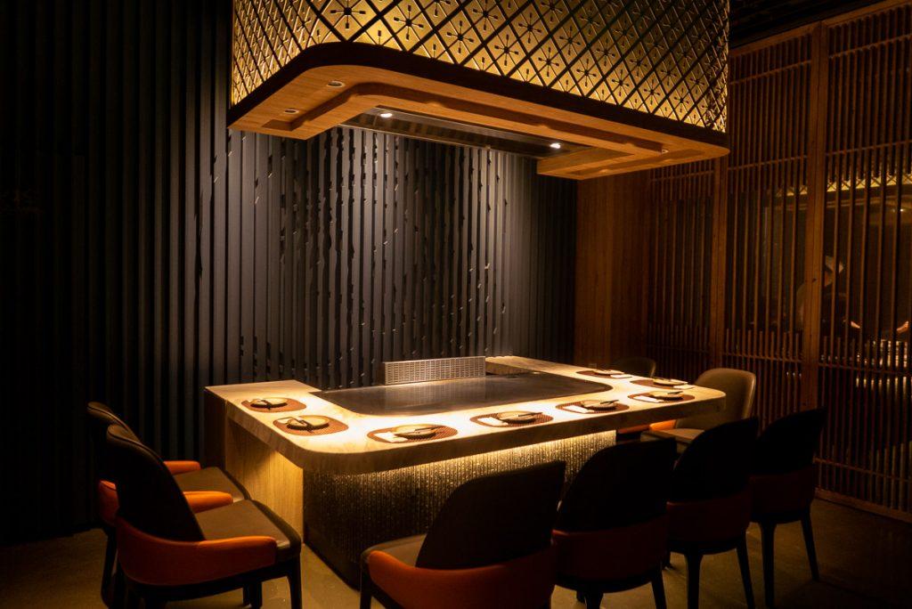 Kagen, a popular Japanese teppanyaki restaurant in Shanghai. Photo by Rachel Gouk.