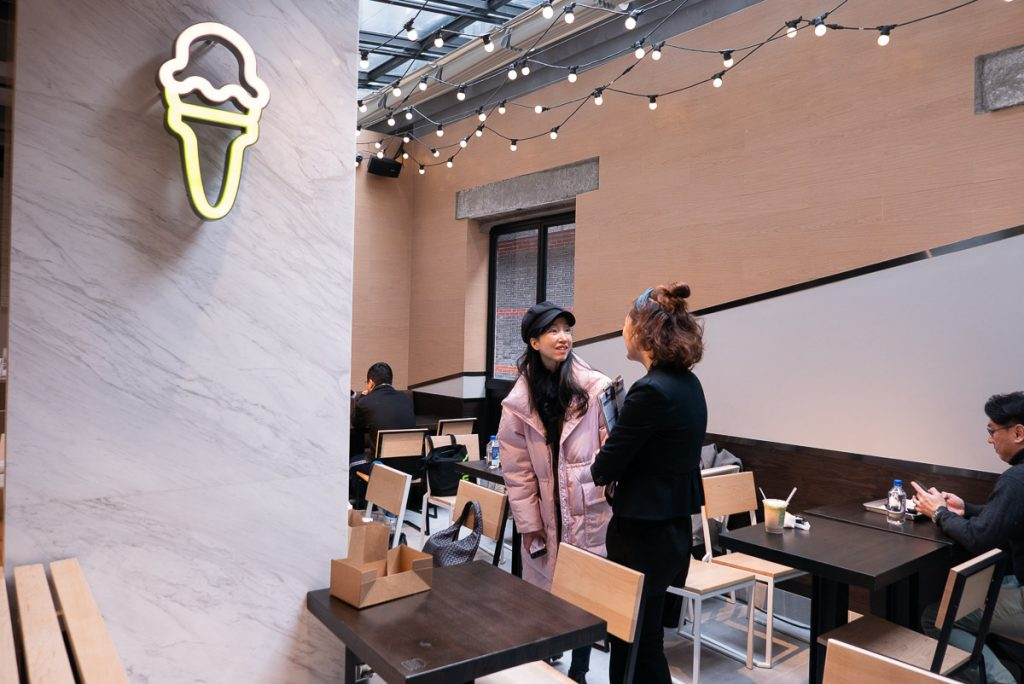 Shake Shack opens in Shanghai's Xintiandi, a popular lifestyle destination. This is Shake Shack's first location in mainland China. Photo by Rachel Gouk.