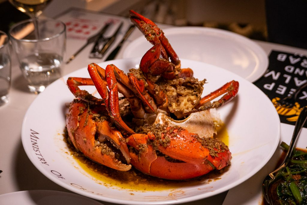 Best new restaurants in Shanghai 2019: Ministry of Crab. Photo by Rachel Gouk.