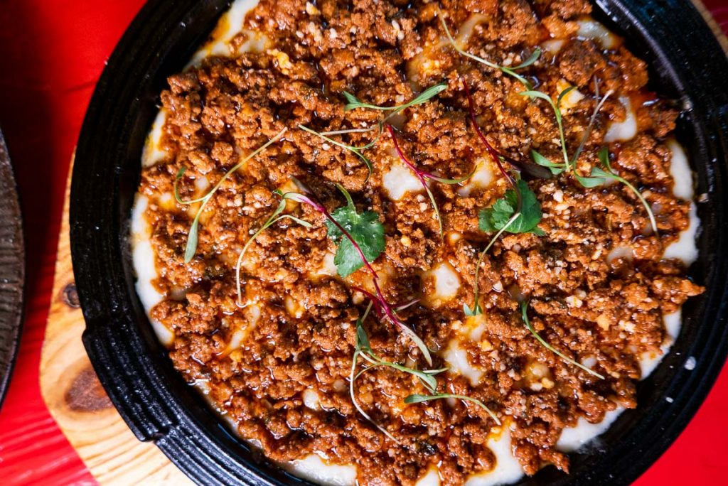 Queso Fundido at Pistolera, a Mexican restaurant in Shanghai. Photo by Rachel Gouk.