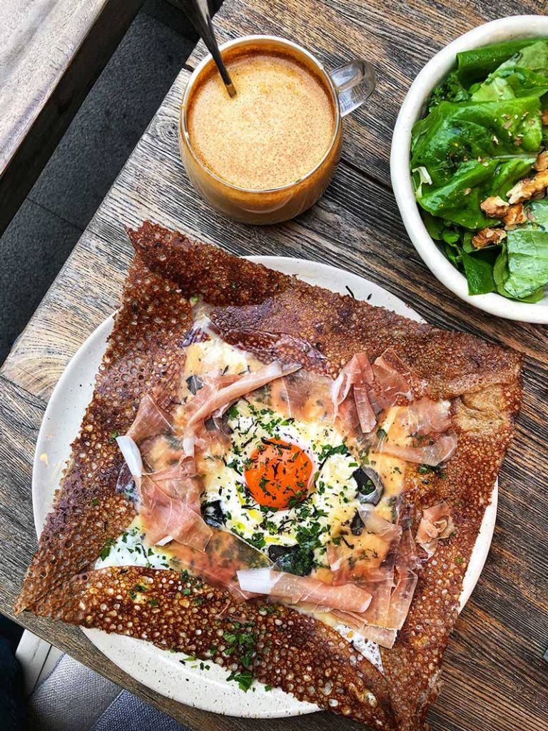 RAC all-day crepe and galette cafe in Shanghai opens a second location. Photo by Rachel Gouk