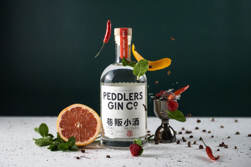 Peddlers Gin, Chinese gin