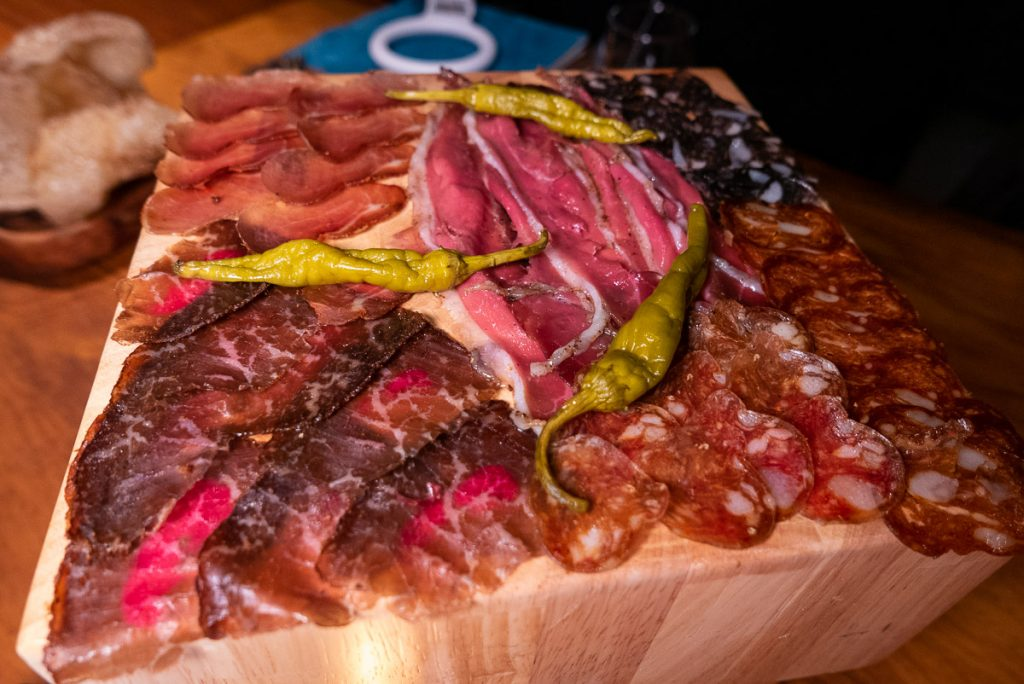 House made charcuterie at C Pearl, a seafood and oyster restaurant in Pudong Century Link mall.