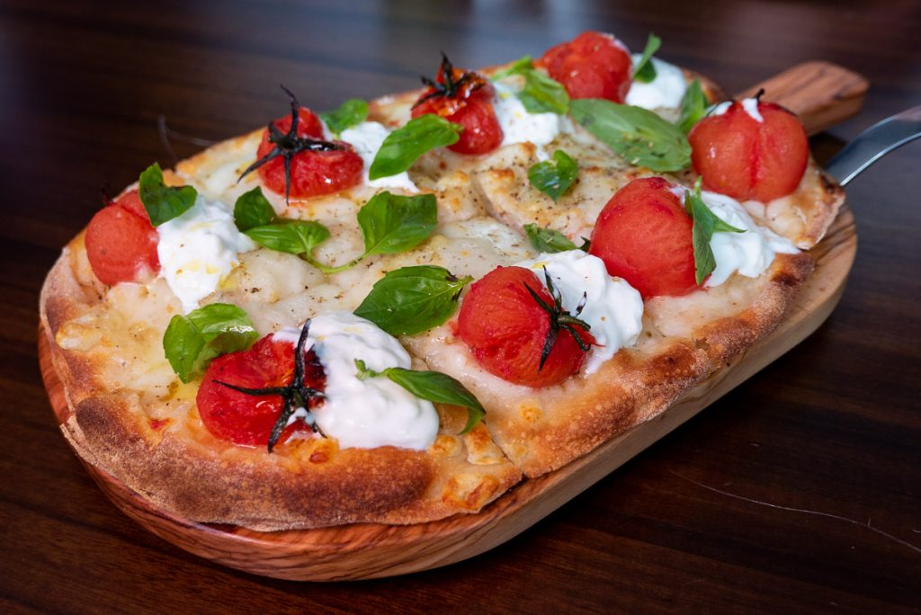 Pizza  at Frasca Italian restaurant at the Middle House, Shanghai. Photo by Rachel Gouk.