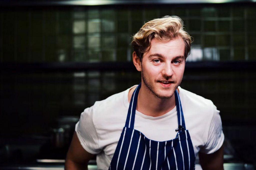 Chef Kasper Pedersen, BOR Eatery, Shanghai. Opening May 2019.