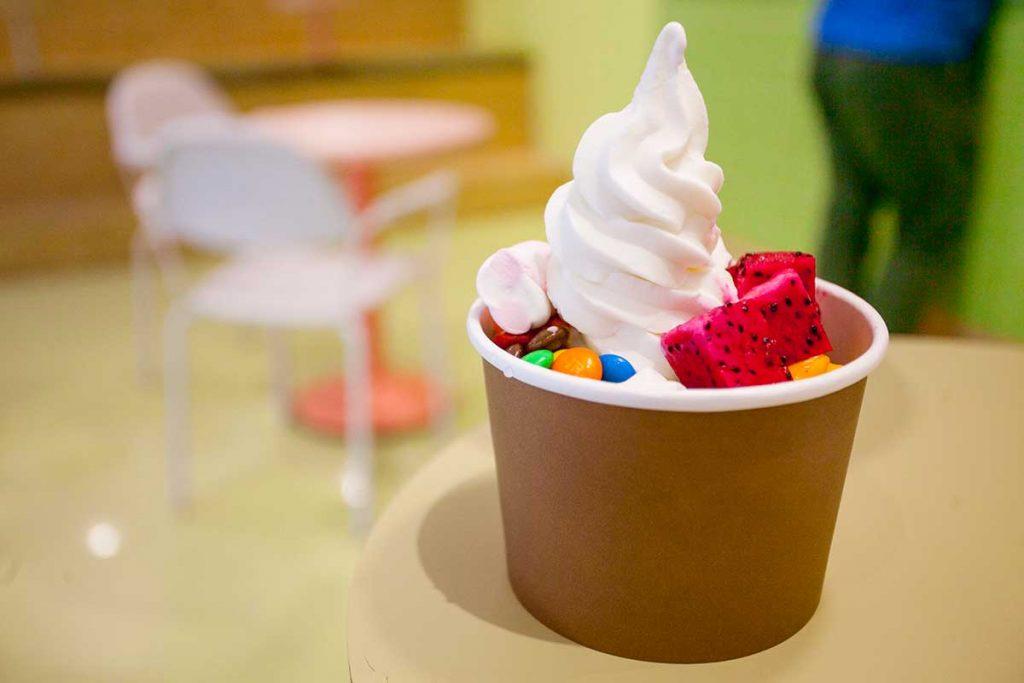 Best spots for ice cream in Shanghai: Spoooon. Photo by Rachel Gouk.