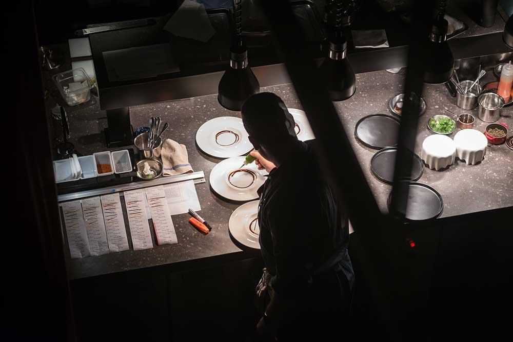 Shanghai's Michelin one-star restaurant Taian Table.