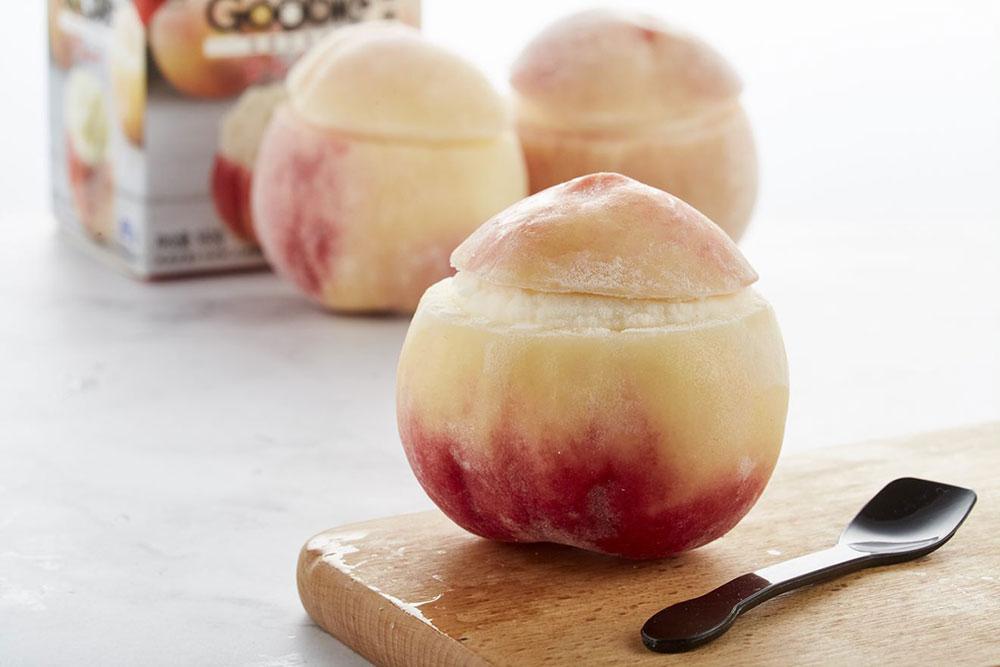 ALDI Shanghai, China products—Peach sorbet