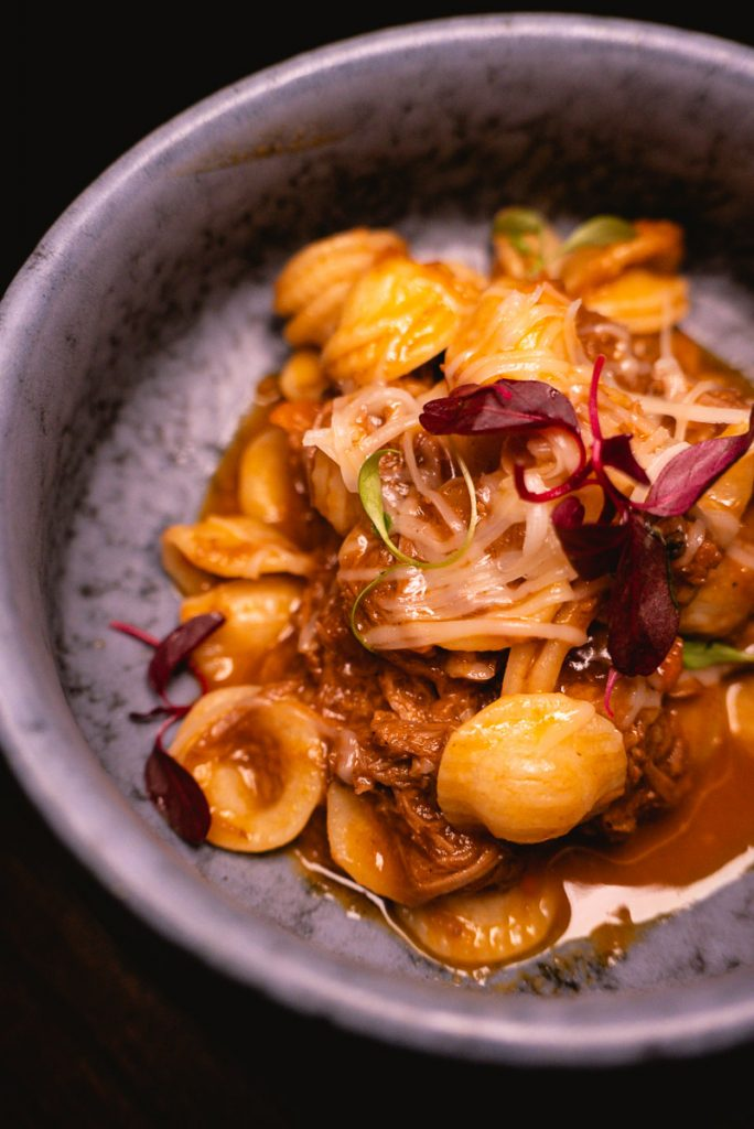 Orecchiette at Arch by Taste Buds — a cocktail bar in Shanghai. Photo by Rachel Gouk.