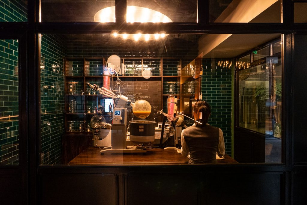 Arch by Taste Buds — a cocktail bar in Shanghai. Photo by Rachel Gouk.