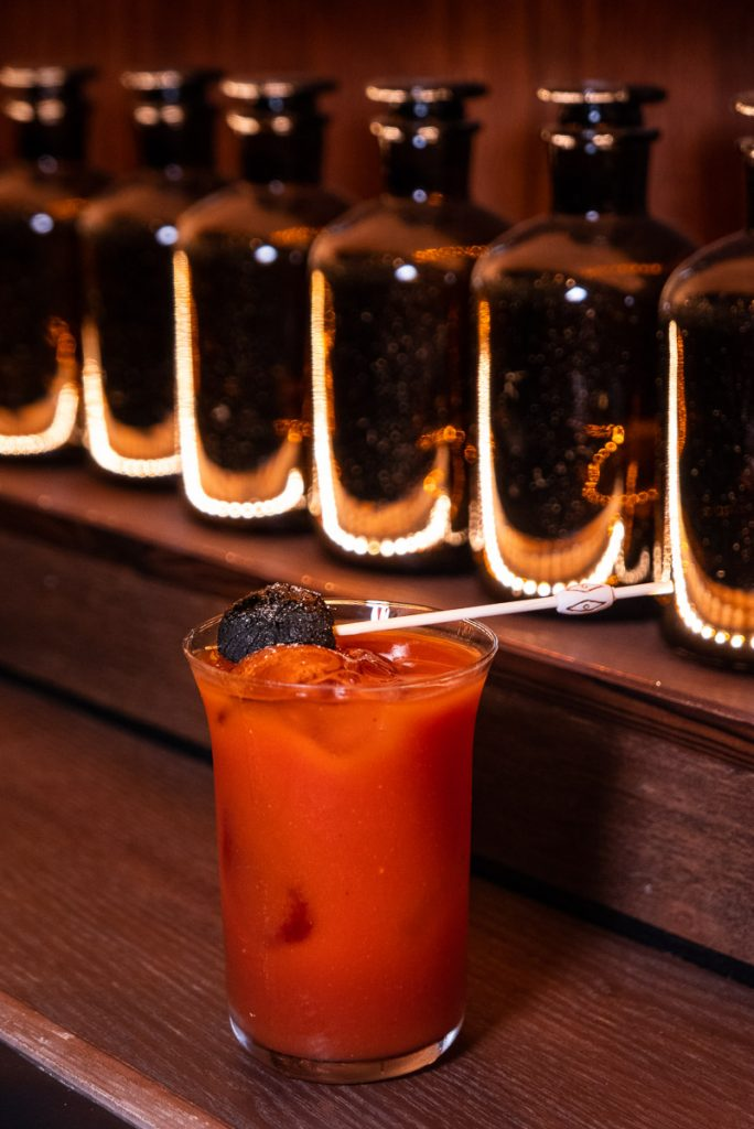 Bloody Mary at Arch by Taste Buds — a cocktail bar in Shanghai. Photo by Rachel Gouk.