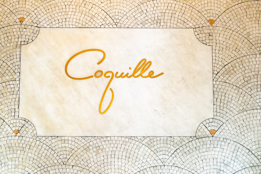 Coquille Seafood Bistro, French restaurant in Shanghai. Photo by Rachel Gouk.