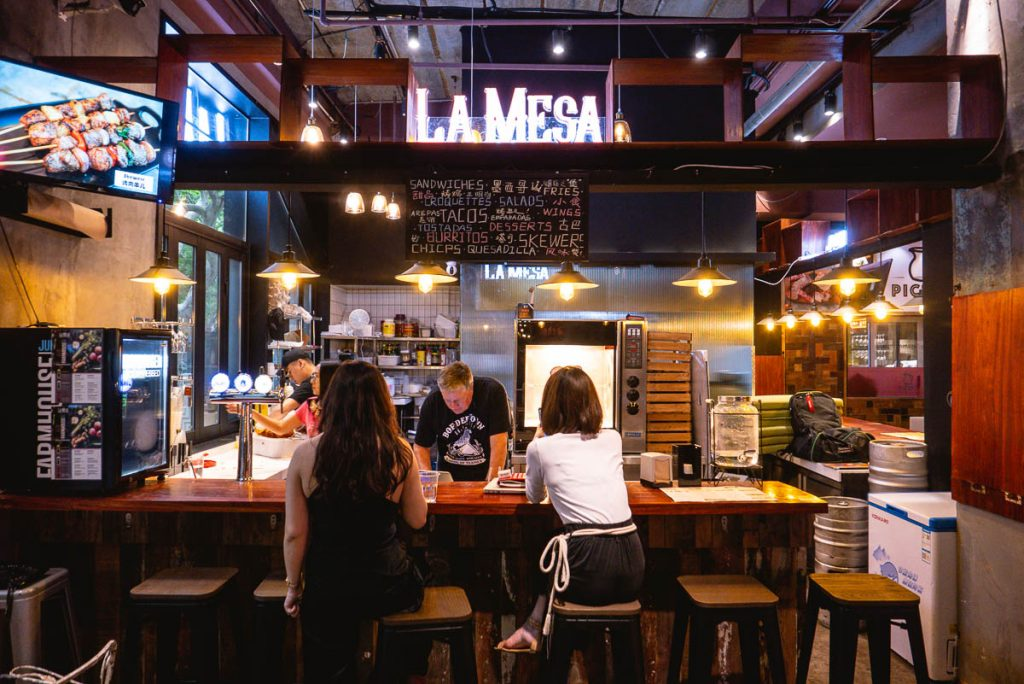 Best new restaurants in Shanghai 2019: La Mesa. Photo by Rachel Gouk.