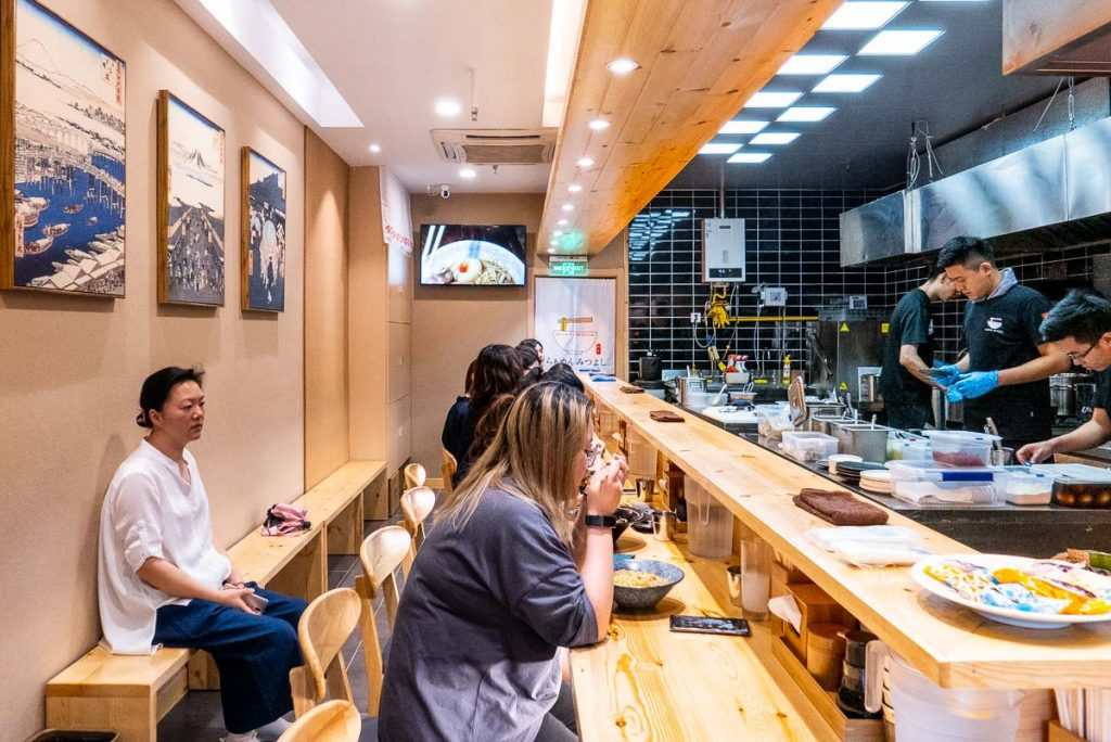 Best new restaurants in Shanghai 2019: Ramen Mitsuyoshi. Photo by Rachel Gouk.