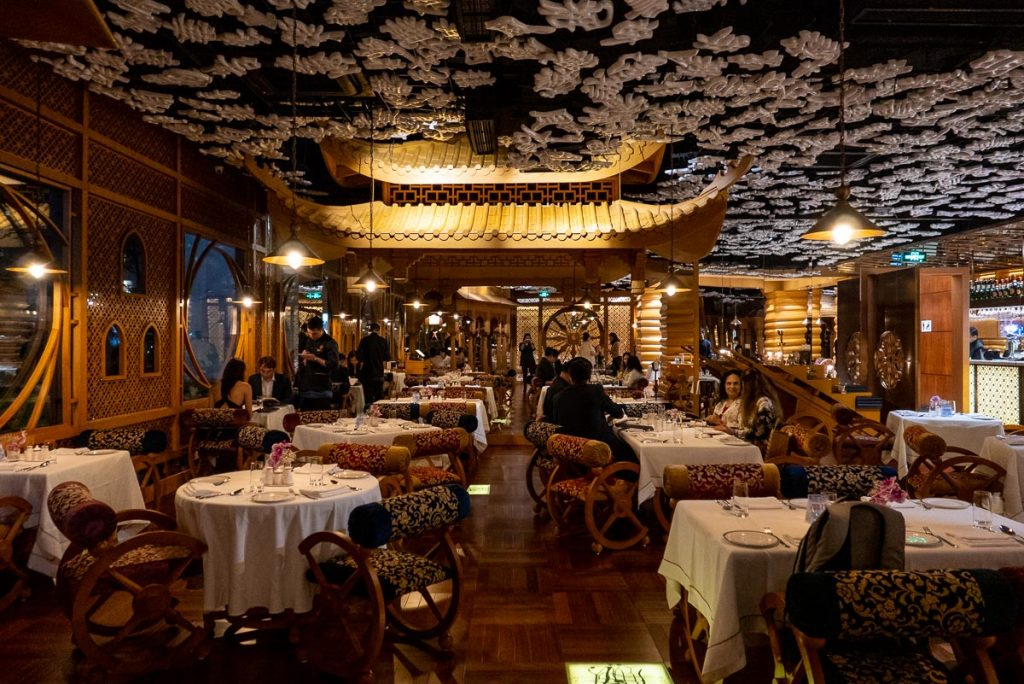 The Tandoor, fine dining Indian restaurant in Shanghai. Photo by Rachel Gouk