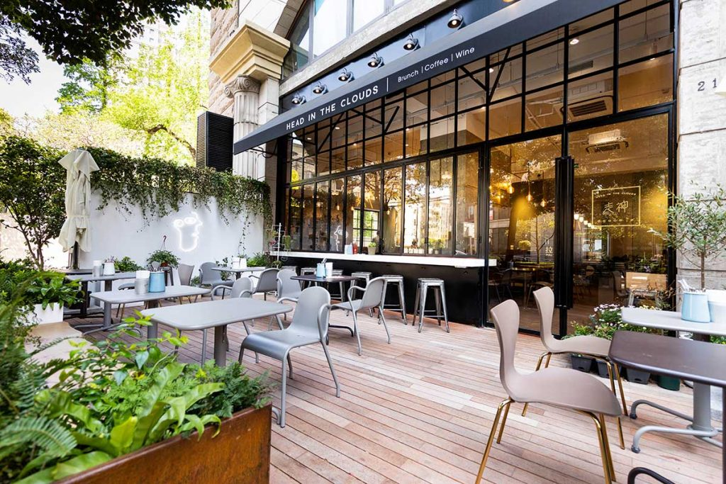 Head in the Clouds, an all-day brunch restaurant in Shanghai.