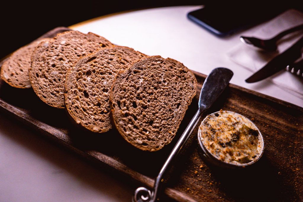 Bread at Head in the Clouds, an all-day brunch restaurant in Shanghai. (Photo by Rachel Gouk)