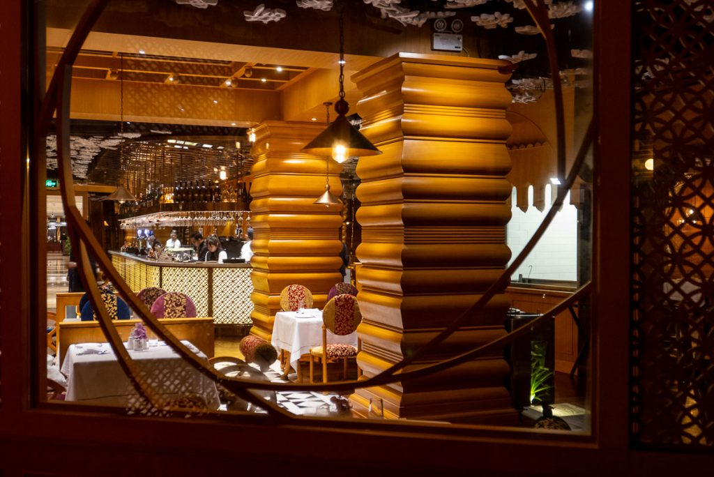 The Tandoor, Indian fine dining restaurant in Shanghai. Photo by Rachel Gouk.