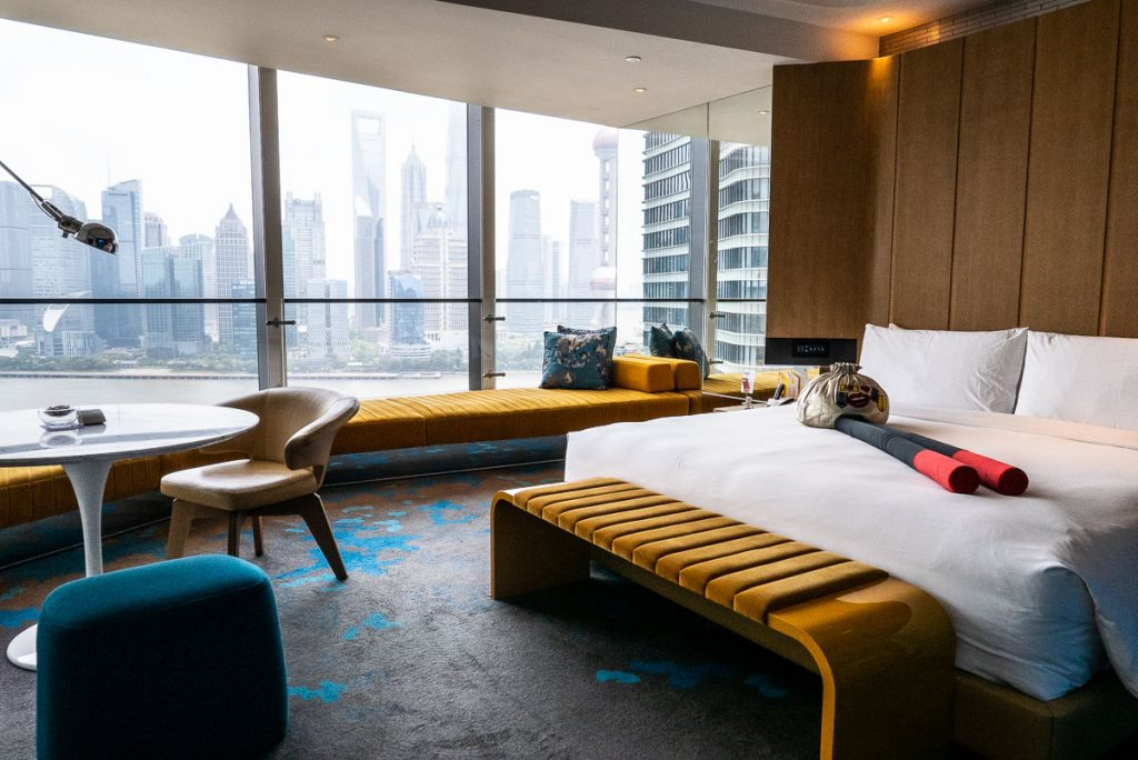 Hotels in Shanghai for staycations: W Shanghai. Photo by Rachel Gouk.