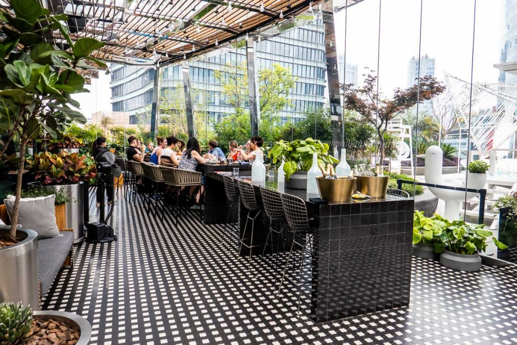 Hotels in Shanghai for staycations: W Shanghai. Social Retox brunch at Kitchen Table. Photo by Rachel Gouk.