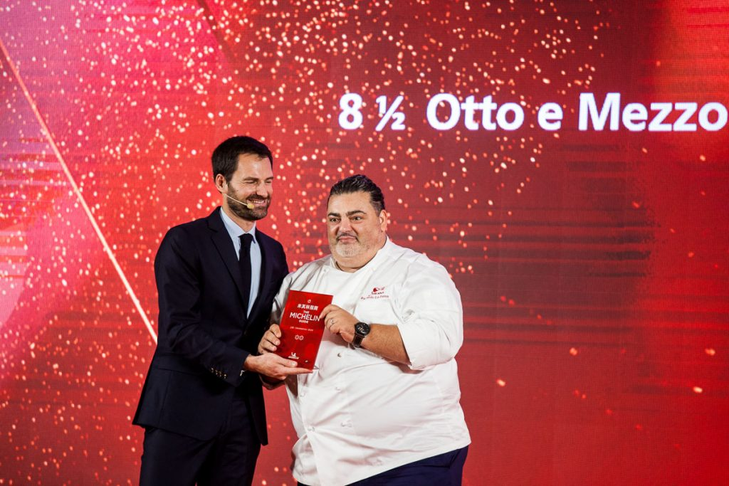 Michelin Guide Shanghai 2020: Full List of Restaurants and Photos. Otto e Mezzo Bombana, Michelin one-star. Photo by Rachel Gouk