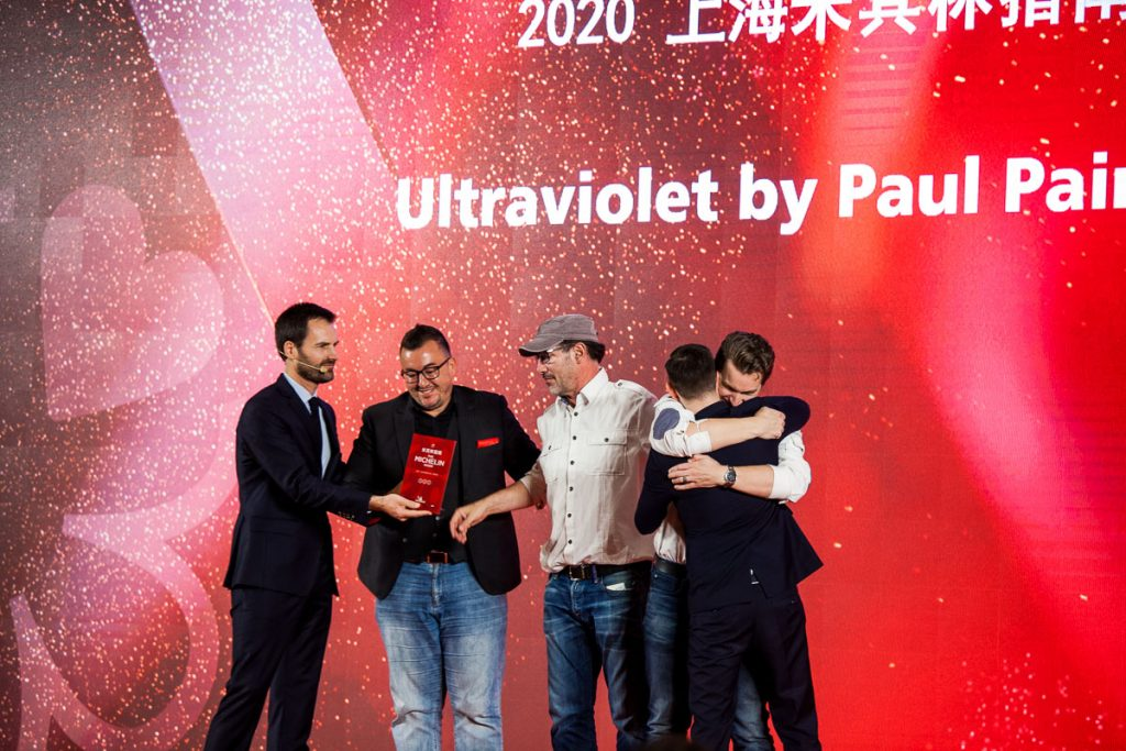 Michelin Guide Shanghai 2020. Michelin Three Stars - Ultraviolet. Photo by Rachel Gouk