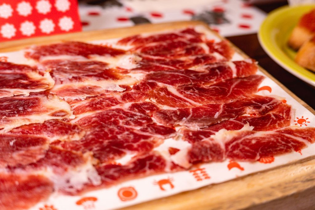 Iberico at Tomatito, a Spanish tapas restaurant in Shanghai. Photo by Rachel Gouk.