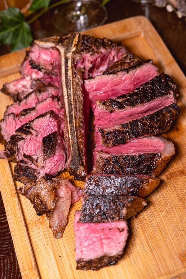 Steak at 1515 West Chophouse & Bar, a high-end steakhouse at the Jingan Shangri-la in Shanghai. Photo by Rachel Gouk