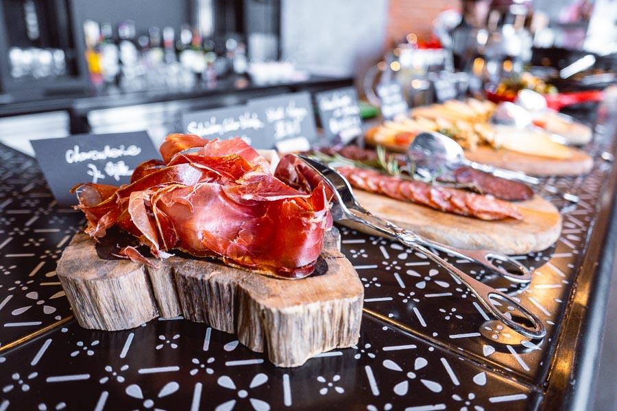 Asador Spanish restaurant at Le Royal Meridien Shanghai. Photo by Rachel Gouk.