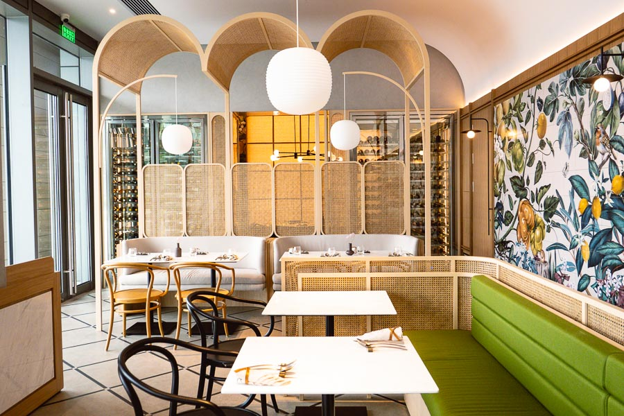 Oxalis, a French bistro in Shanghai. Photo by Rachel Gouk.