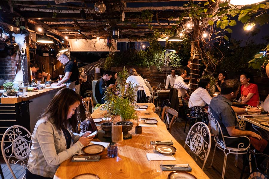 Perch, a pop-up dining experience by the team behind The Nest, Shanghai. Photo by Rachel Gouk.
