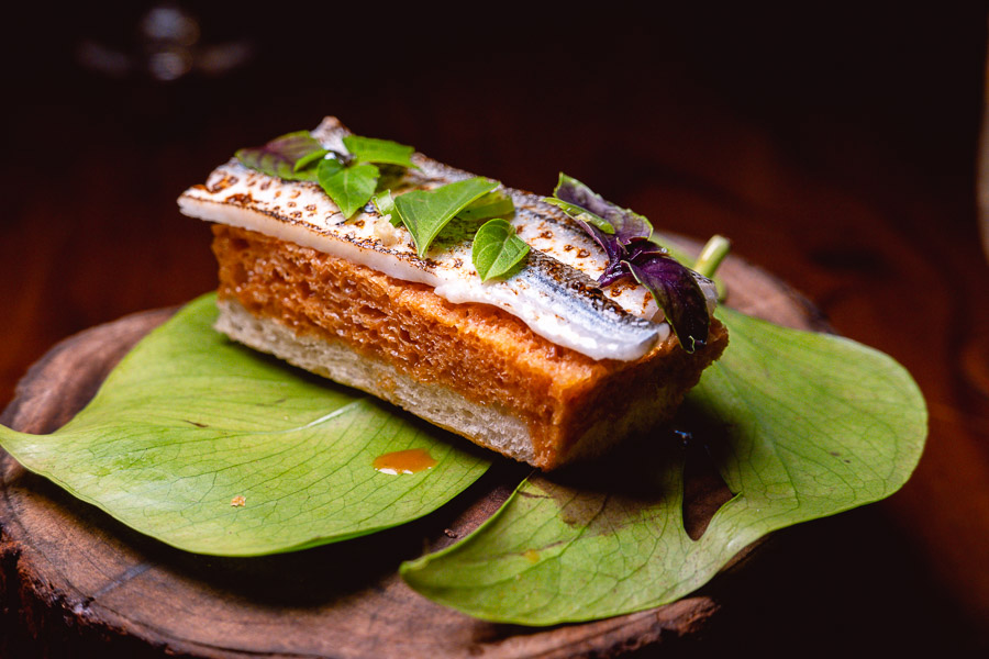 Garfish at Perch, a pop-up dining experience by the team behind The Nest, Shanghai. Photo by Rachel Gouk.