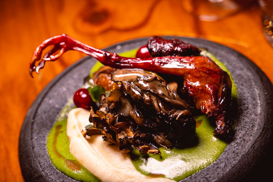 Pigeon at Perch, a pop-up dining experience by the team behind The Nest, Shanghai. Photo by Rachel Gouk.