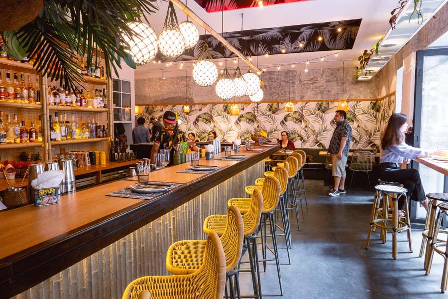 Birds of Paradise, a tiki bar and restaurant in Shanghai. Photo by Rachel Gouk.