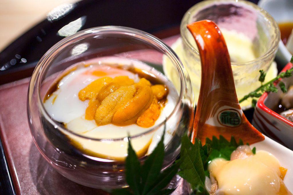 Seasonal platter at Machiya, a Japanese restaurant in Shanghai. Photos by Rachel Gouk.