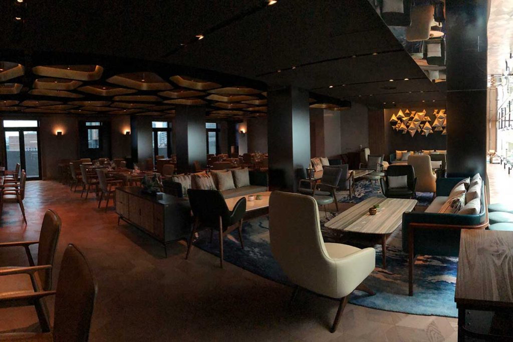 FOGO, restaurant and bar in Shanghai near the Bund