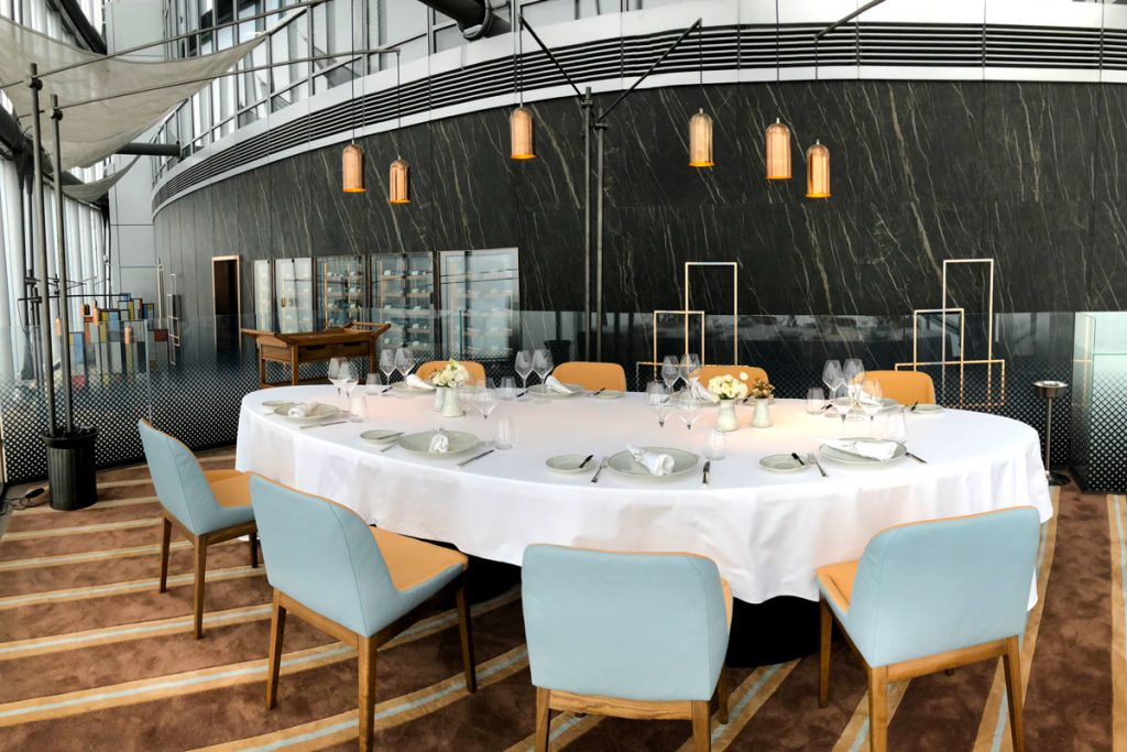 Maison Lameloise Shanghai - French Michelin 3-star restaurant opens in Shanghai Tower.
