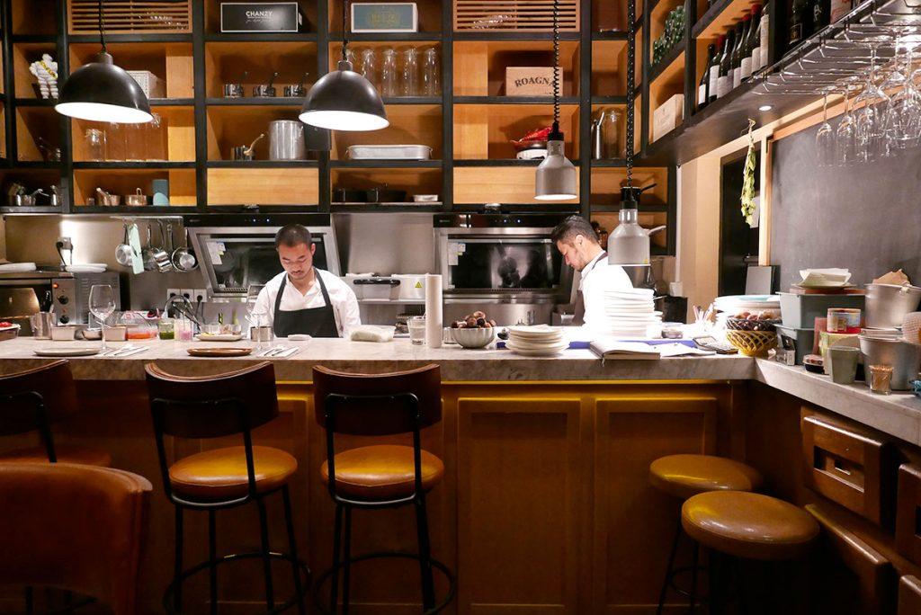 Shanghai French restaurant: Racines