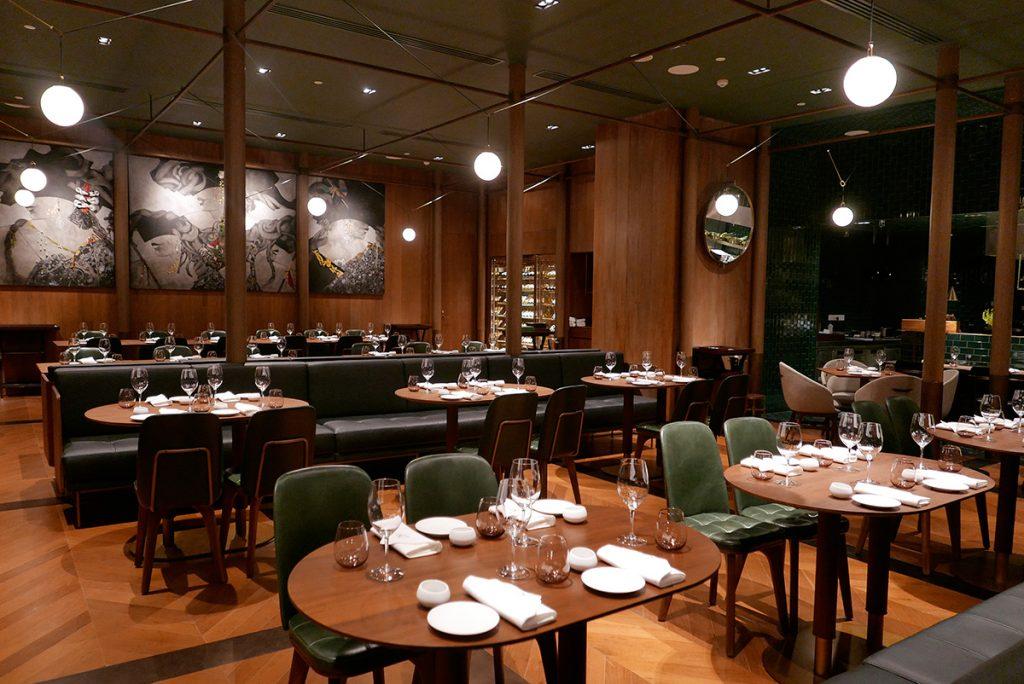Restaurant in Shanghai: La Scala at the Sukhothai Shanghai