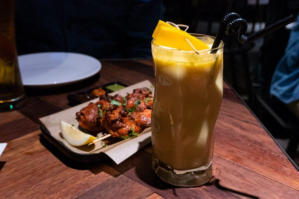 Mango Lassi at Currify, an Indian restaurant in Shanghai. Photos by Rachel Gouk