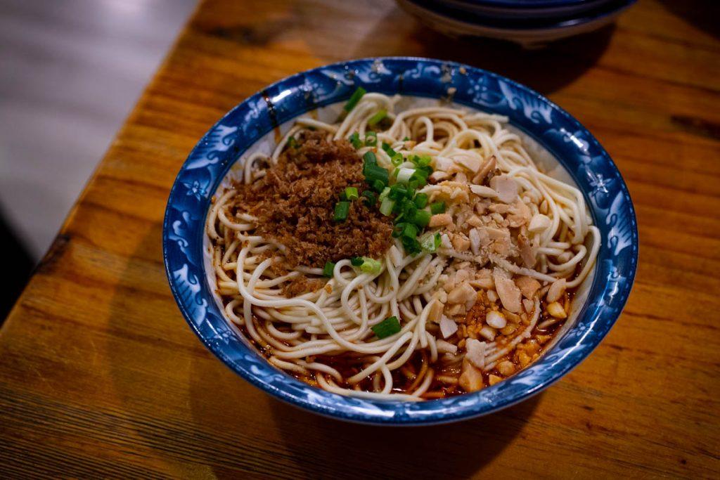 Liu Tang Men, Sichuan Noodles in Shanghai (Photo by Rachel Gouk)