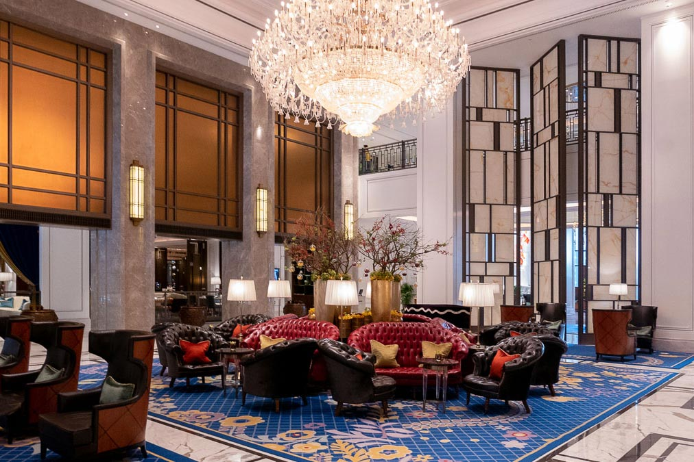 Hotels in Shanghai: St. Regis Shanghai (Photo by Rachel Gouk)